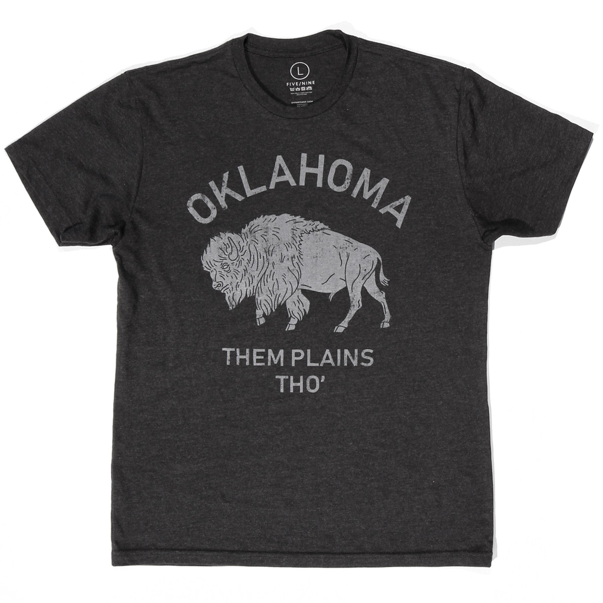 Oklahoma Them Plains Tho Buffalo T-shirt